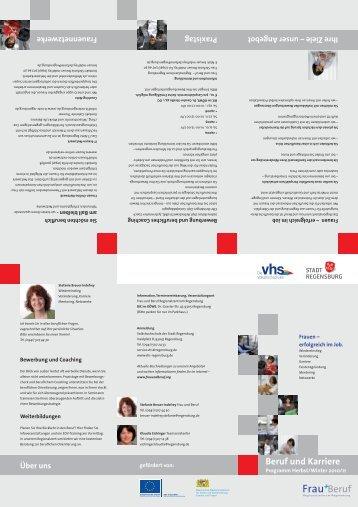 Beruf und Karriere - Frau und Beruf