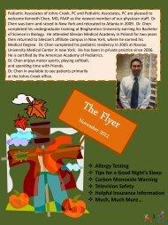 November 2012 - Pediatric Associates of Johns Creek, PC