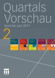 April bis Juni 2011 - Springer Fachmedien WIesbaden GmbH
