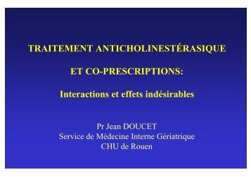 Interactions et effets indésirables - CHU de Rouen