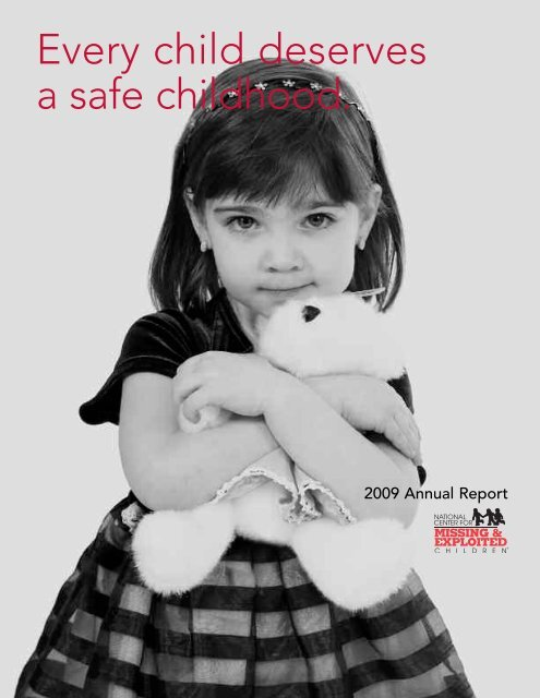Every child deserves a safe childhood. - National Association of ...