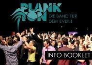 Bandfolder als pdf herunterladen - Plankton Music