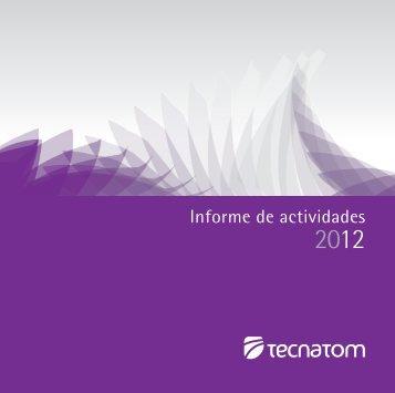 Informe de actividades - Tecnatom