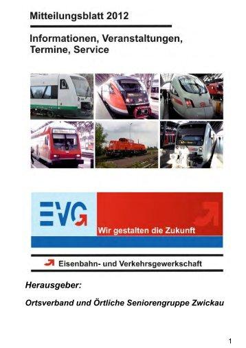 Herausgeber - EVG OV Leipzig