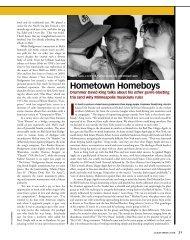 Hometown Homeboys - David R. Adler