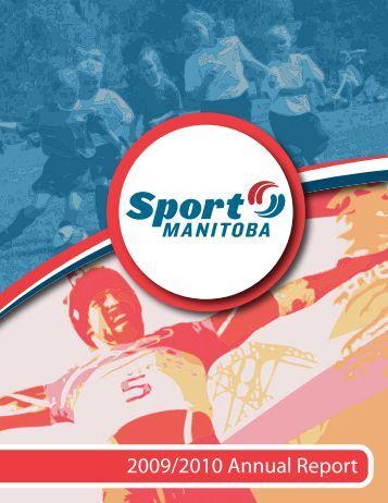 2009/2010 Annual Report - Sport Manitoba