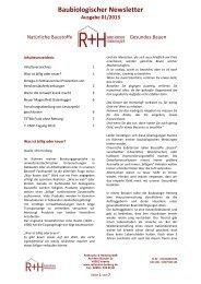 Download als PDF - Baubiologie Herberg