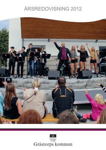 Årsredovisning 2012 - Grästorps kommun