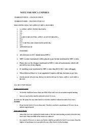 Operating Manual - MPCA