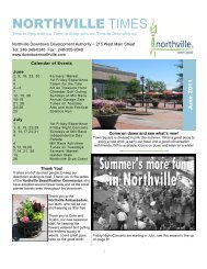 June - Downtown Northville!