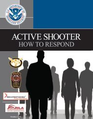 Active Shooter - How to Respond - Homeland Security
