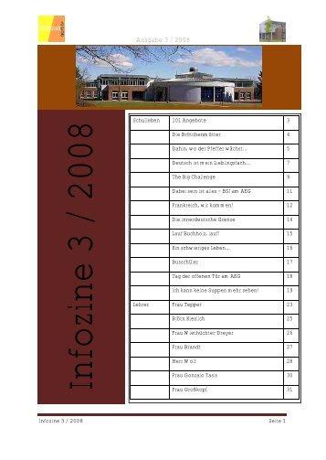 Infozine 3 / 2008 - Albert Einstein Gymnasium