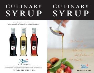 culinary syrup - Dansukker.com