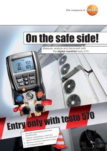 testo 570 Digital manifold - TABATEQ
