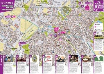 Mappa - Mestre in Centro