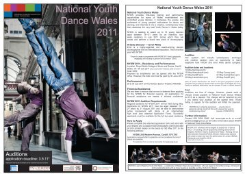 National Youth Dance Wales 2011
