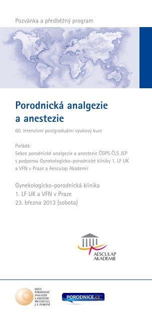 Porodnická analgezie a anestezie - Porodnice.cz