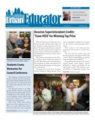October edition of the Urban Educator - Council of the Great City ...