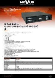 Digital Video Recorder NV-DVR4608(S)/D
