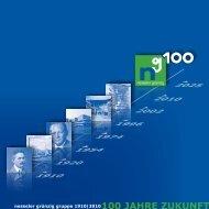 100 Jahre Zukunft – ein rückblick nach vorn - nesseler grünzig gruppe