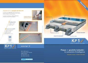 Plaque + goulotte Isoleader - KP1