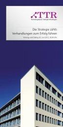 Verhandlungen zum Erfolg führen - Proesler Kommunikation GmbH