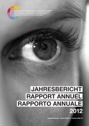 Jahres bericht rapport annuel rapporto annuale 2012