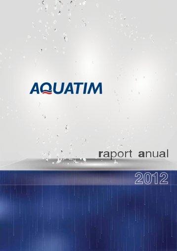 Raport anual 2012 .pdf - Aquatim