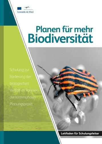 BDSkills-Leitfaden DE - Biodiversity Skills