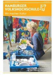Wir machen Kultur - Hamburger Volkshochschule