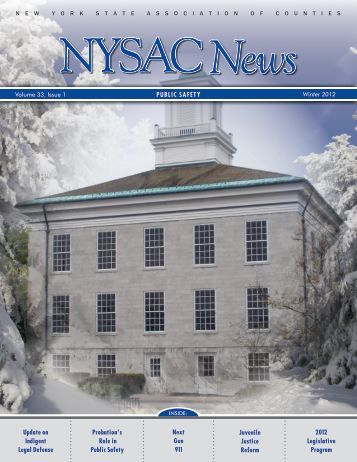 Winter 2012 - New York State Association of Counties