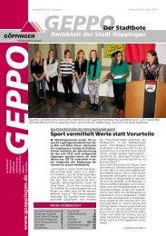 Amtsblatt der Stadt Göppingen Der Stadtbote - Schützengesellschaft ...