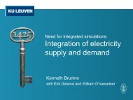Integration of electricity supply and demand - ibpsa-nvl