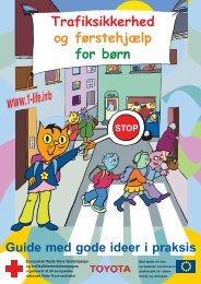 Trafiksikkerhed og førstehjælp for børn - first aid education
