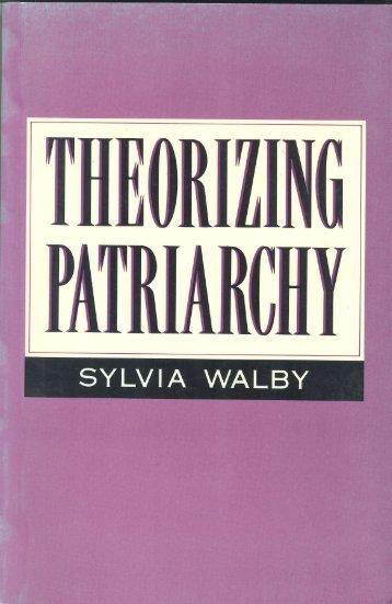 Theorizing Patriarchy - Sylvia Walby