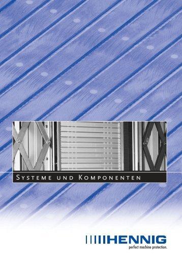 SYsTEmE unD KOmPOnEnTEn - Hennig GmbH