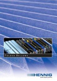 FOLDED BELLOWs - Hennig GmbH
