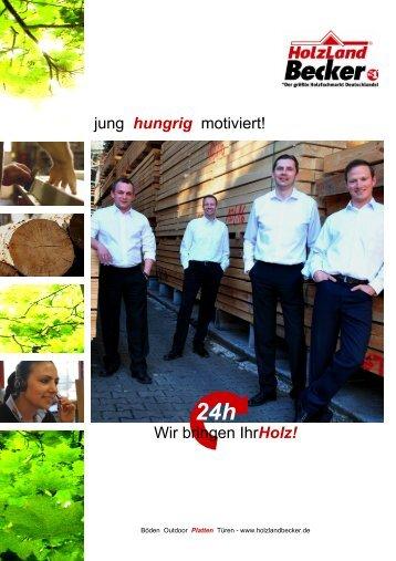IhrHolz! - Grosshandel - HolzLand Becker