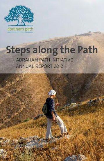 2012 Annual Report - Abraham Path