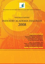 industry dialog final fold - Malaysian Accountancy Research and ...