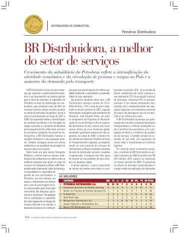 BR Distribuidora, a melhor do setor de serviços - Transporte Moderno