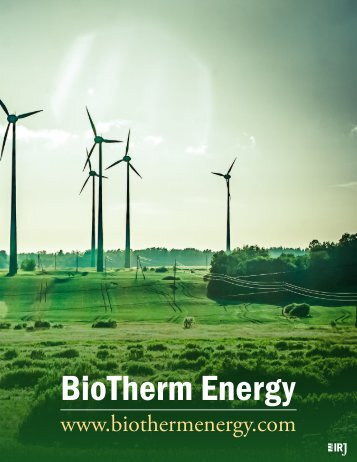 BioTherm Energy - Denham Capital