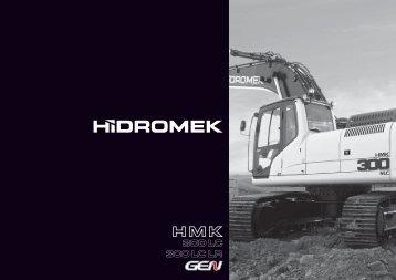 300 LC 300 LC LR - Hidromek