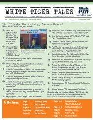 Welch_News Nov 2010.indd - Welch Elementary School - Indian ...