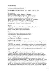 Friday, November 18, 2011, 1:00PM – 2:30PM, PC 112
