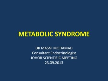 G2 (1) Metabolic syndrome