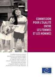 Compilation des bonnes pratiques pour promouvoir une éducation exempte de stéréotypes de genre