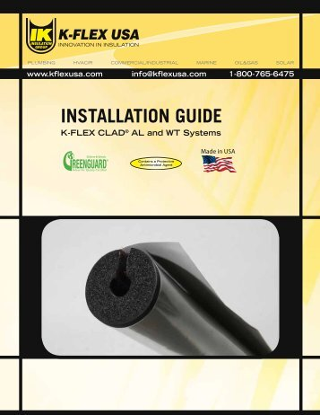 INSTALLATION GUIDE - K-Flex USA
