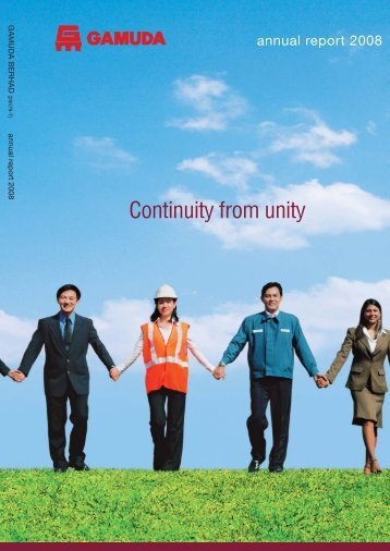 Annual Report 2008 - Gamuda Berhad - Investor Relations