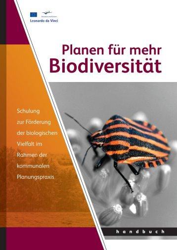 Planen für mehr Biodiversität - ADAM - Leonardo da Vinci Projects ...